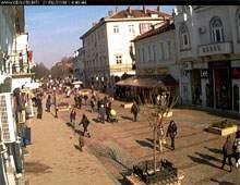 Веб Камера Русе - пешеходная улица в центре города , Русе, Болгария