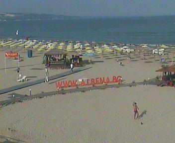 Веб Камера Албена , пляж , Албена, Болгария