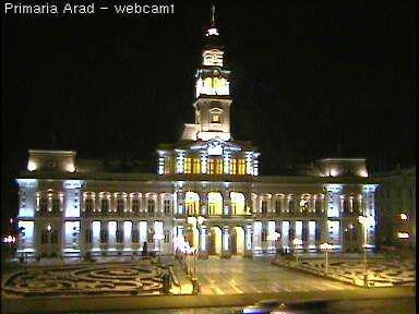 Веб Камера Плошадь, Администрация города Арад, Румения , Арад, Румыния