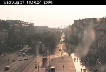 Веб Камера Вид на Берлин - булевард Unter den Linden  , Берлин, Германия