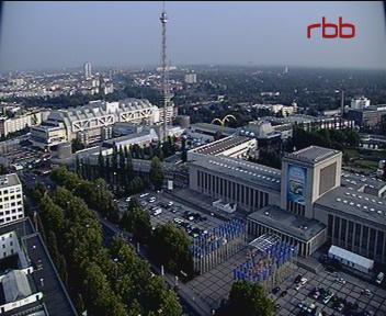 Вид с RBB Телевидение Берлин