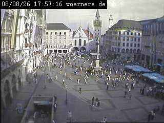 Веб Камера Плошад Marienplatz 2 , Мюнхен, Германия