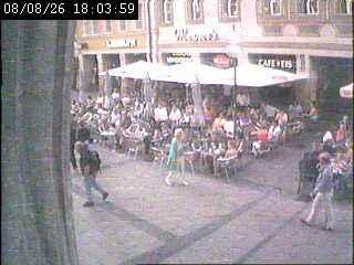 Веб Камера Плошад Marienplatz 3 , Мюнхен, Германия
