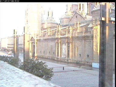 Веб Камера Плошад del Pilar, Сарагоса , Сарагоса, Испания