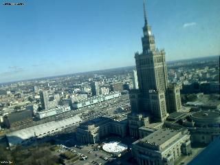 Веб Камера Варшава  вид на юговостоке , Варшава, Польша