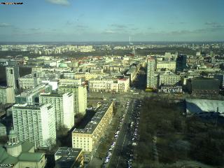 Веб Камера Варшава - вид на востоке , Варшава, Польша