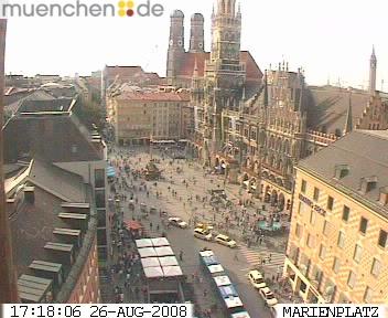 Веб Камера Плошад Marienplatz , Мюнхен, Германия